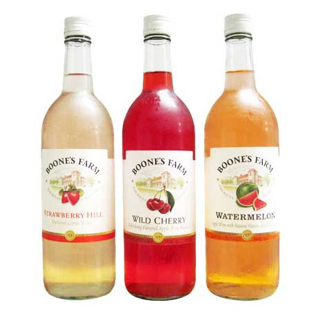 boones farm sweet wine coolers