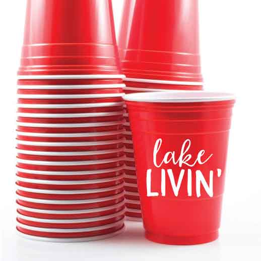 personalized red solo cups