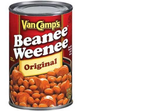 redneck party food beans and wienies