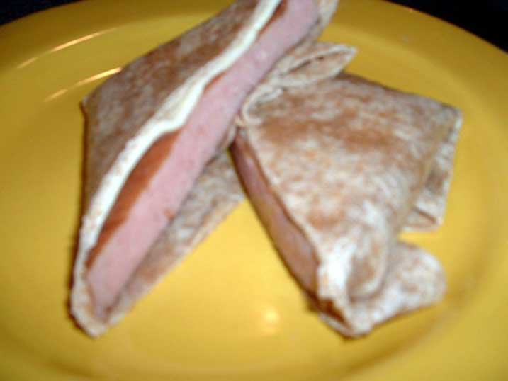 redneck party food pepsi spam wraps