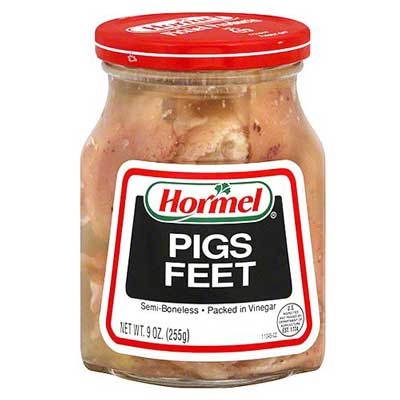 redneck party food pigs feet