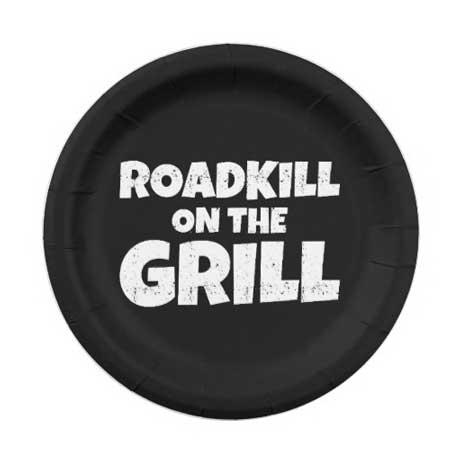 redneck party plates
