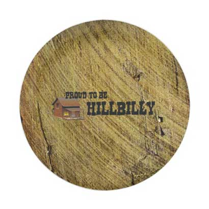 hillbilly party plates