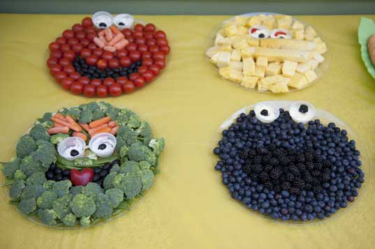 sesame street party food