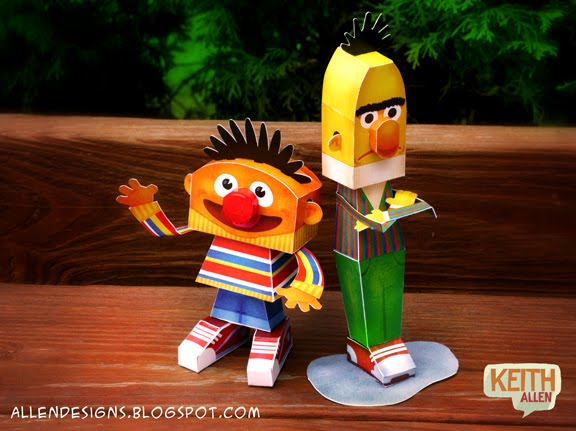sesame street birthday party bert and ernie