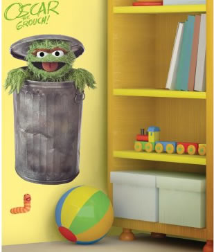 sesame street wall stickers