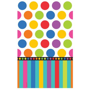 spots tablecloth