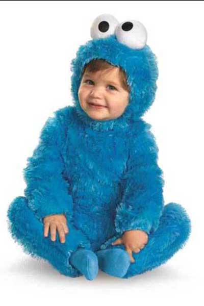 baby toddler sesame street costume cookie monster
