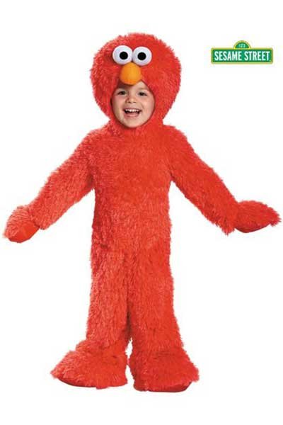 kids sesame street costume elmo