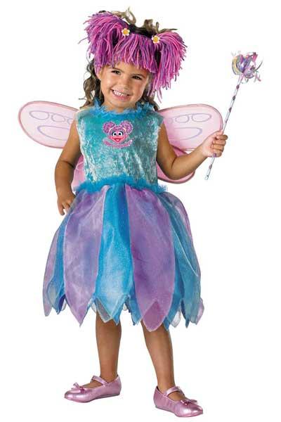 sesame street kids abby cadabby costume
