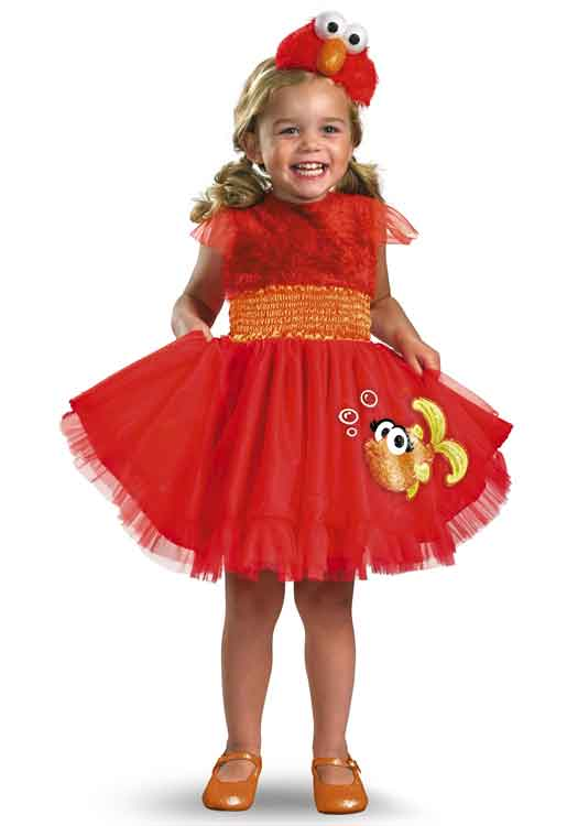 sesame street girls elmo costume