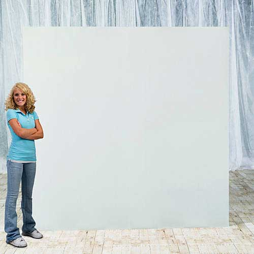 freestanding backdrop board