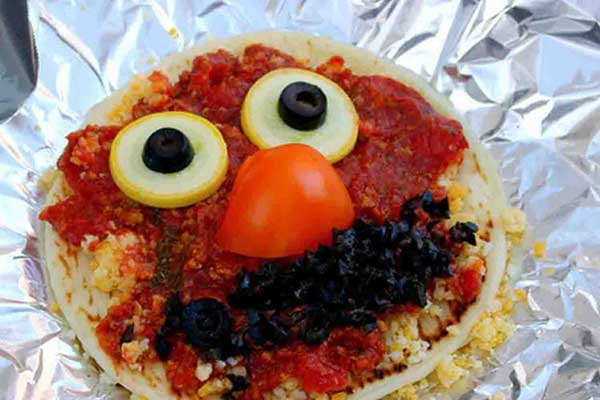 elmo pizza