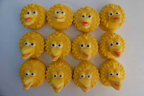 sesame street big bird oreos