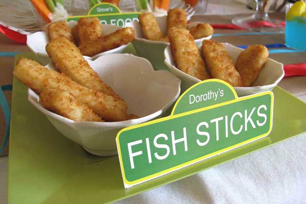 dorothy's fish sticks