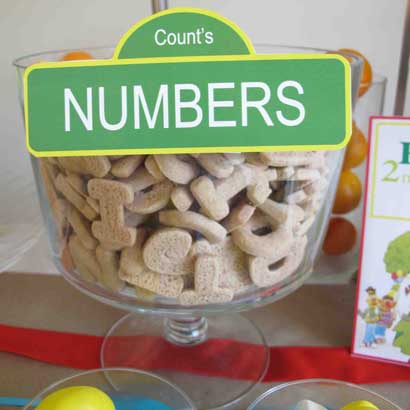 the count's number cookies