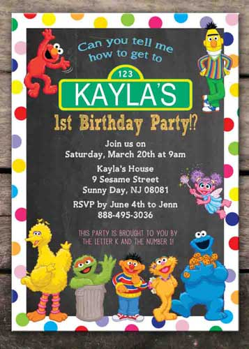 100 Sesame Street Birthday Party Ideas By A Professional Party Planner