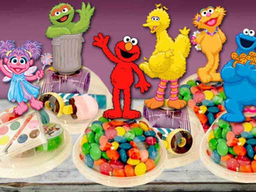 sesame street treat holders