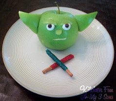 star wars yoda snack