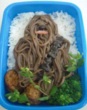 star wars birthday party chewbacca bento box