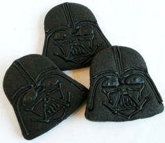 star wars birthday party darth vader cookies