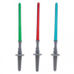 star wars lightsaber cake picks