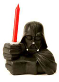 star wars darth vader candle