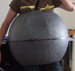 star wars party ideas paper mache death star