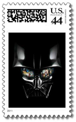 star wars postage stamps