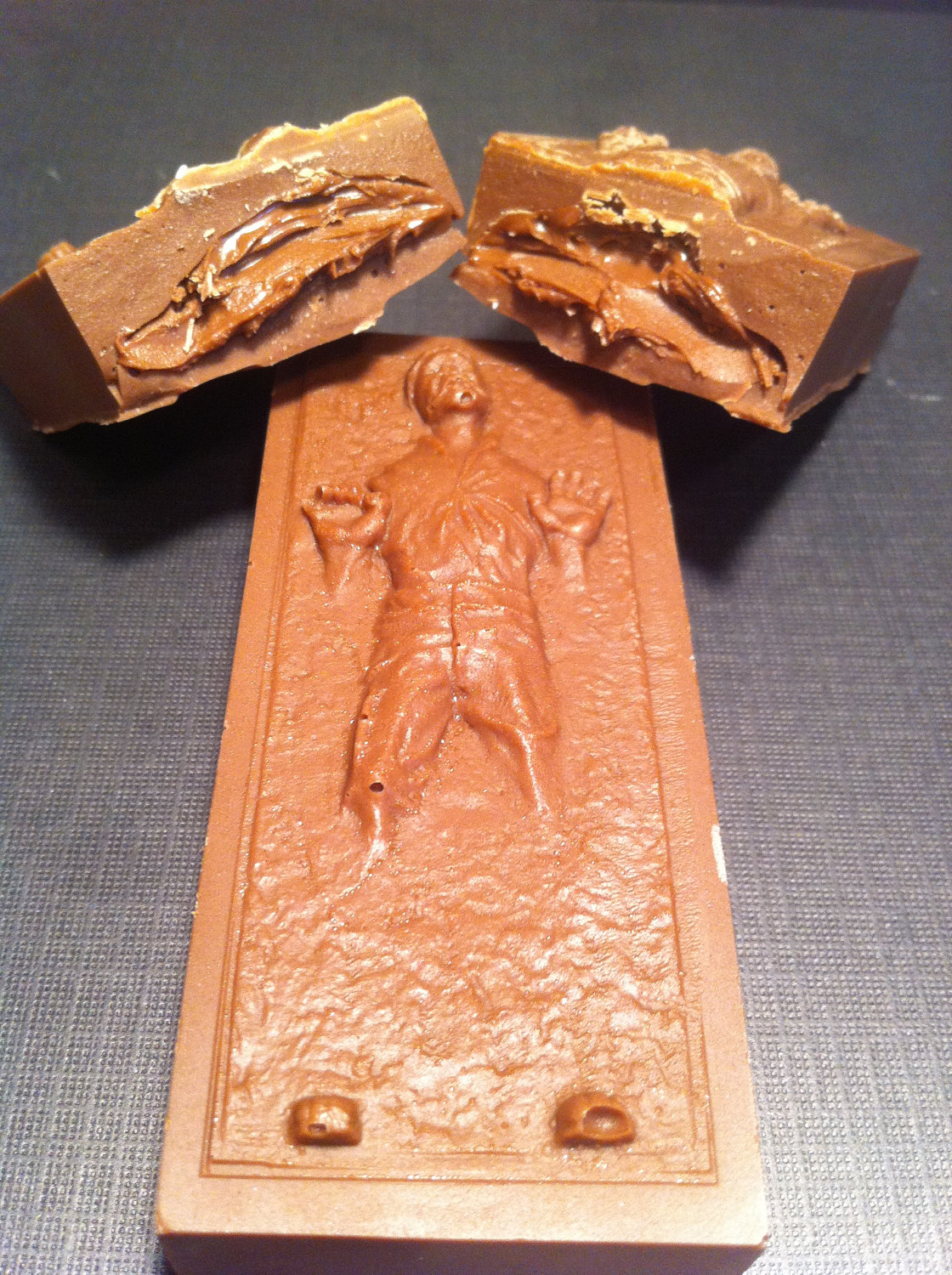 han solo carbonite chocolate