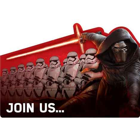 fill in star wars invitations