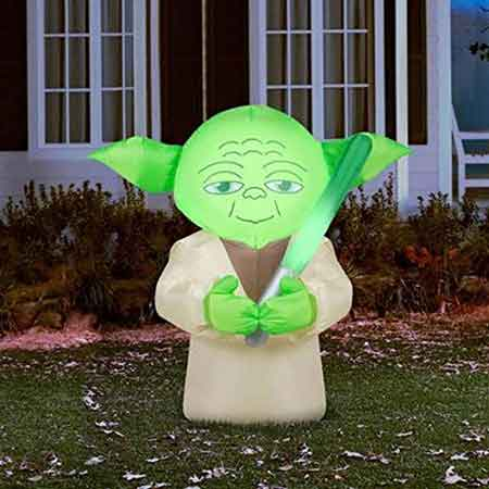 star wars inflatable lawn decorations