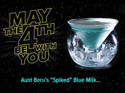 blue bantha milk cocktail