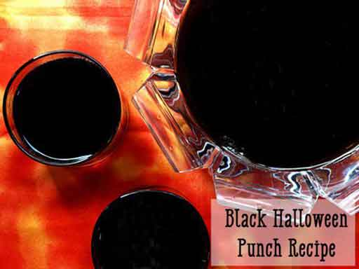 black punch recipe