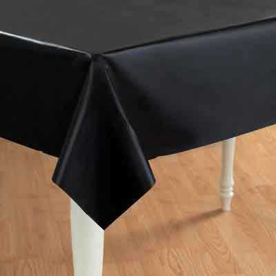 gloss black table cover