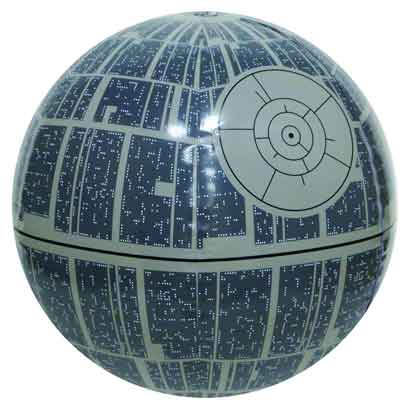 inflatable death star