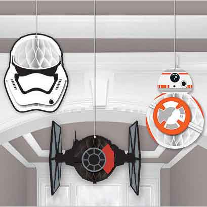 star wars hanging decorations
