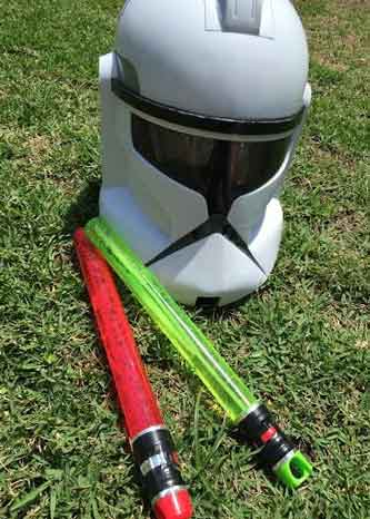 star wars bubble wands party favors