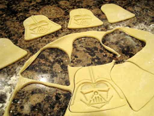 star wars darth vader sausage rolls