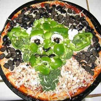 star wars pizza yoda