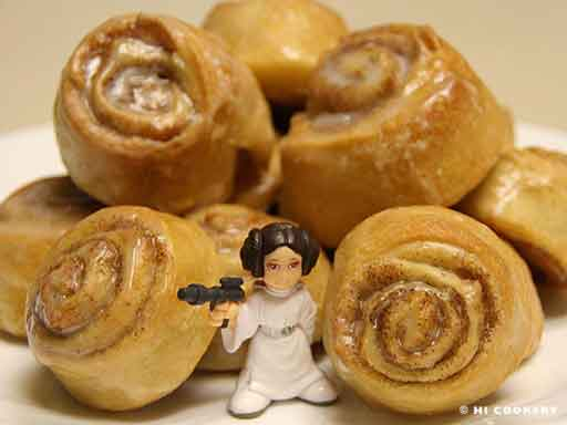 princess leia danish do's