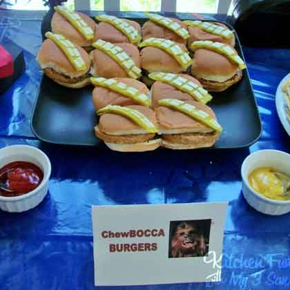chewbacca burgers
