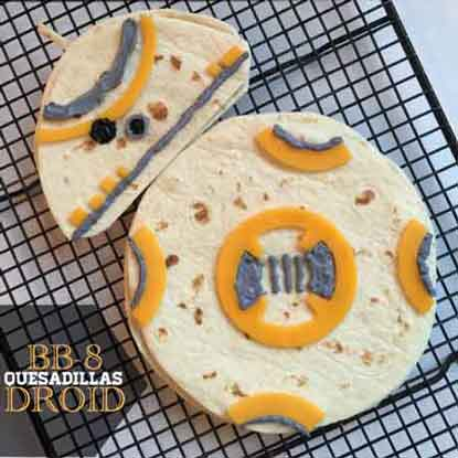 bb8 quesadillas