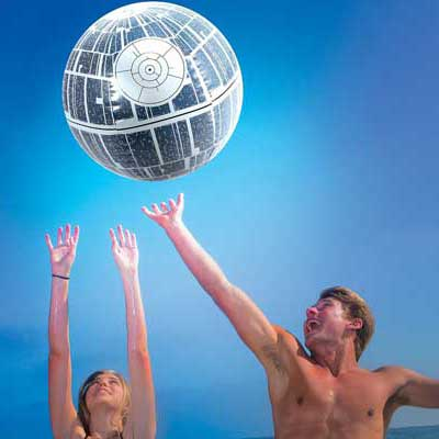 star wars party games death star beach ball