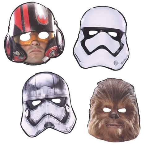 star wars force awakens masks