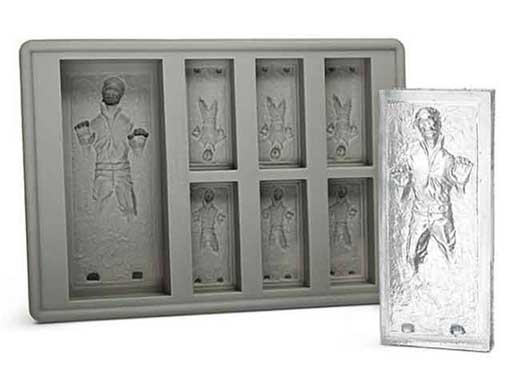 han solo carbonite ice molds
