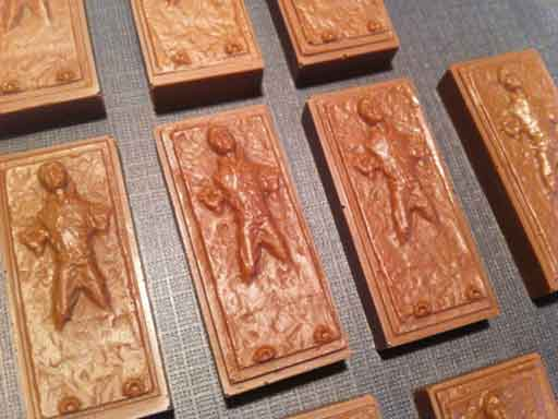 han solo in carbonite chocolate