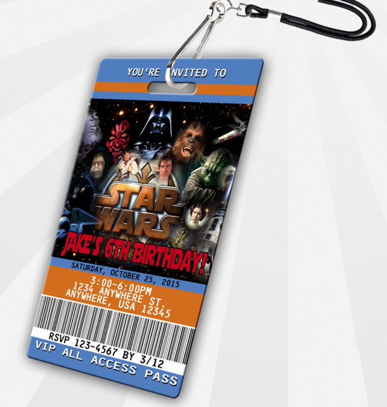 star wars VIP pass