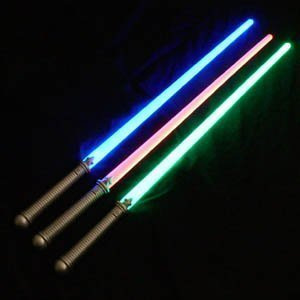 toy lightsabers