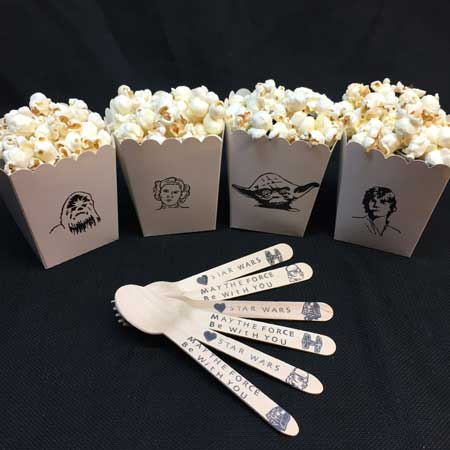 star wars popcorn boxes